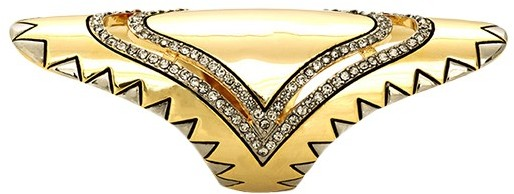 House Of Harlow Modern Tribal Finger Ring