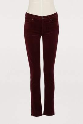 7 For All Mankind The Skinny velvet pants