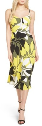 Women's Bailey 44 Floral Print Midi Dress $228 thestylecure.com