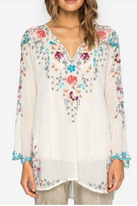 Johnny Was Butterfly Winter Blouse