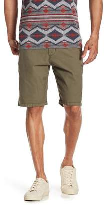 Lucky Brand Flat Front Mid Rise Shorts