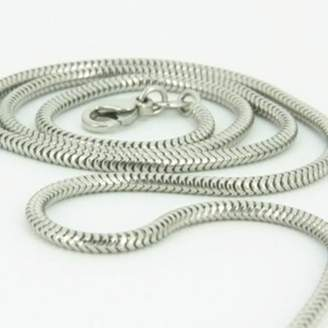 "Pandora Cozmos Solid Chains 2mm solid sterling silver 925 Italian round SNAKE CHAIN necklace with lobster claw clasp jewelry fits charms - inch 34""/85cm"