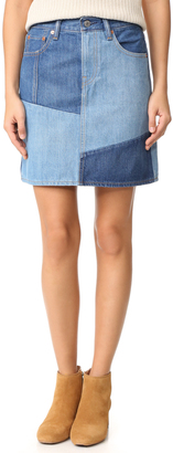 Levi's Everyday Skirt $98 thestylecure.com