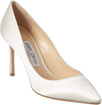 Jimmy Choo Romy 85 Satin Pump