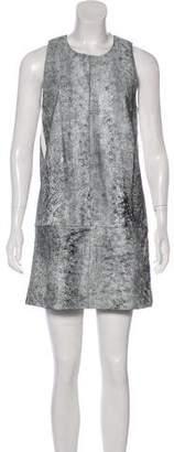 3.1 Phillip Lim Leather Printed Dress