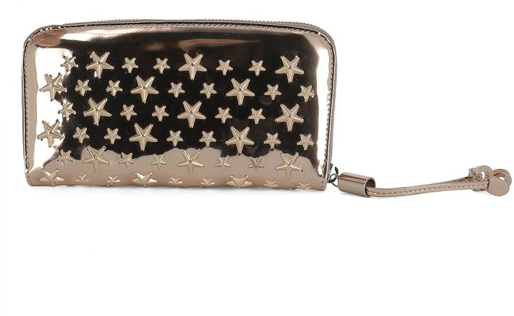 Jimmy Choo Pink Leather Wallet