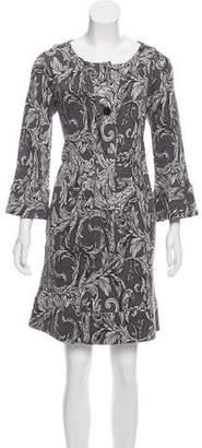 Diane von Furstenberg Gaby Printed Dress