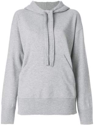 Laneus ruffle back hoodie