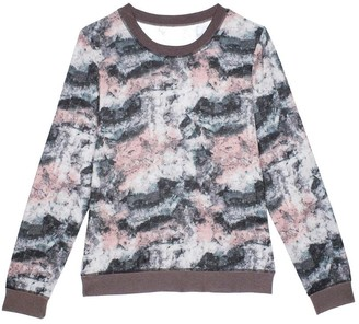 Pink Label Elaine Long Sleeve Pajamas Top EL3