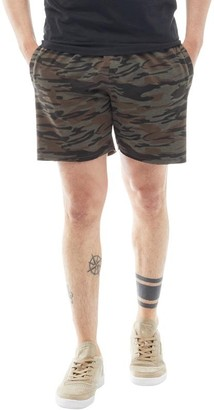 Brave Soul Mens Crews Jersey Shorts Camo