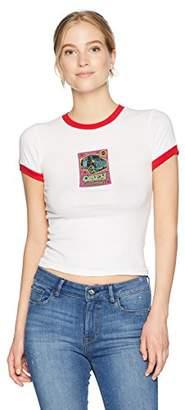 Obey Junior's Van Sticker Ringer Tshirt