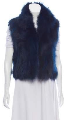 Adrienne Landau Heavy Fur Vest