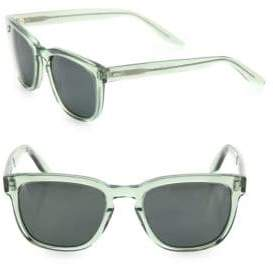 Barton Perreira Coltrane Absint 54MM Square Sunglasses