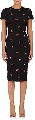 Victoria Beckham Women's Quilted-Knit Cotton-Blend Sheath Dress