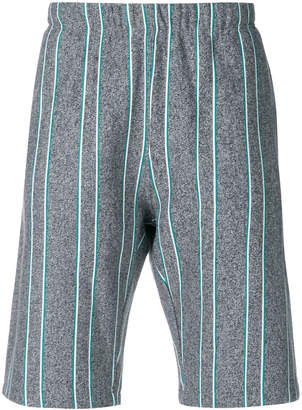 Champion striped track shorts