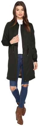 Only Ella Long Bomber Jacket Women's Coat