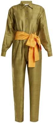 RHODE RESORT Tara silk jumpsuit