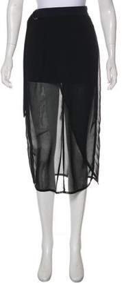 Damir Doma Overlay Midi Skirt