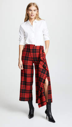 Monse Trouser with Flare and Fringe