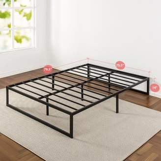 "Zinus Abel 14"" Metal Platform Bed Frame with Steel Slat Support, King"