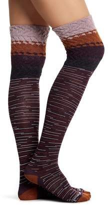 Smartwool Built Up Beehive Over-the-Knee Socks