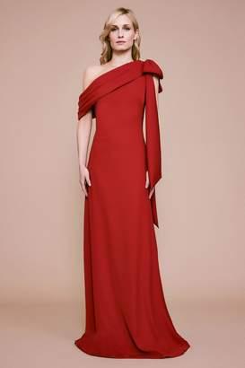 Tadashi Shoji Cassia Bow Gown