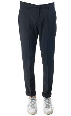 Dondup Gaubert Gray Color Wool Blend Trousers