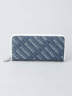 Moussy (マウジー) - MOUSSY MOUSSY/QUILTING WALLET ROUND WALLET アスチュート 財布/小物
