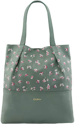Cath Kidston Woodstock Ditsy Leather Tote