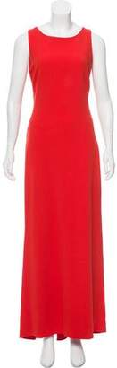 Osman Cutout-Accented Maxi Dress
