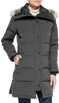 Canada Goose Shelburne Parka with Fur Hood $900 thestylecure.com