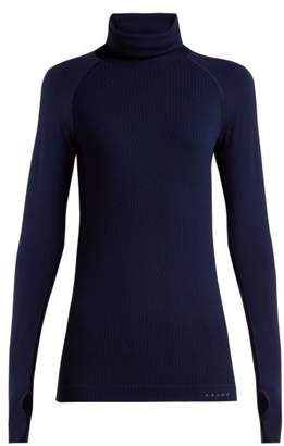 Falke Thermal Long Sleeve Performance T Shirt - Womens - Dark Navy