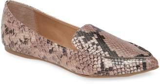 Steve Madden Feather Loafer Flat