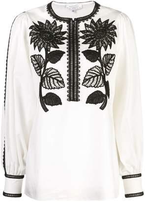 Andrew Gn sunflower blouse