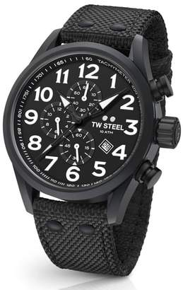 TW Steel Volante Chronograph Web Strap Watch, 45mm