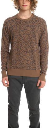 Robert Geller Leopard Jacquard Sweater