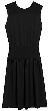 Theory Women's Classic Sleeveless A-Line Blouson Dress