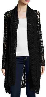 JWLA For Johnny Was Coy Crochet Long Jacket $290 thestylecure.com