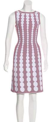 Alaia Fit and Flare A-Line Dress