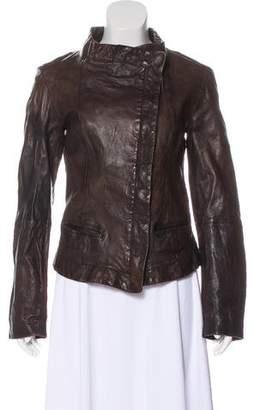AllSaints Spitalfields Leather Jacket