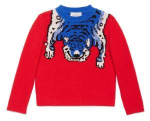 Gucci Little Boy's& Boy's Woolen Sweater