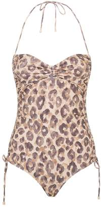 Zimmermann Melody Leopard Swimsuit