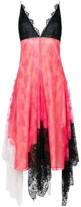 Christopher Kane neon lace cami dress