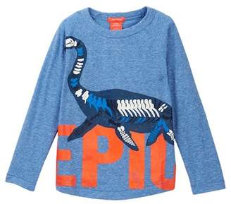 Joe Fresh Marl Long Raglan Sleeve Tee (Toddler & Little Boys)