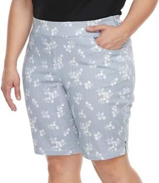 Briggs Plus Size Super Stretch Bermuda Shorts