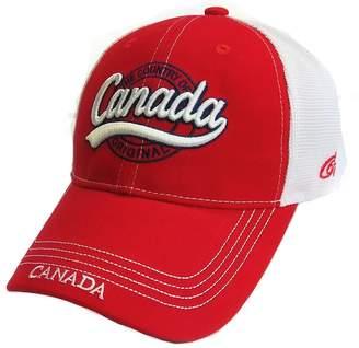 Capz67 True Canada Original Baseball Cap Mesh Hat - Red 584a30f84fa