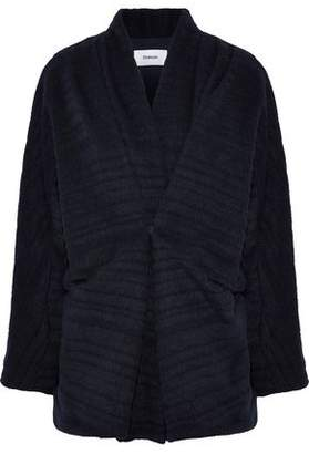 Chalayan Ribbed Wool-Blend Jacket