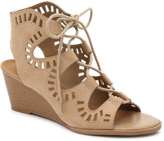 Madeline Morning Glory Wedge Sandal - Women's