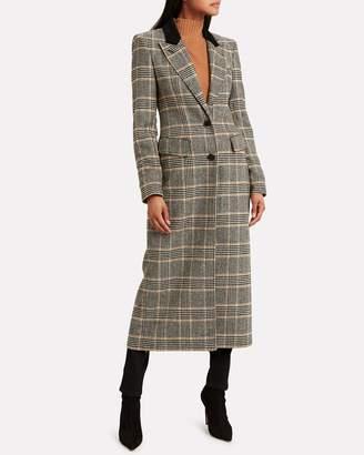 Smythe Brando Tailored Houndstooth Coat