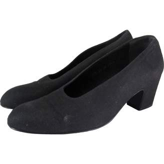 Clergerie Black Cloth Heels
